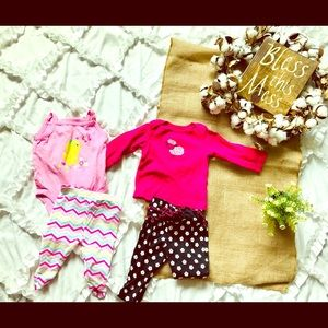 Carters and more 3-6 month bundle
